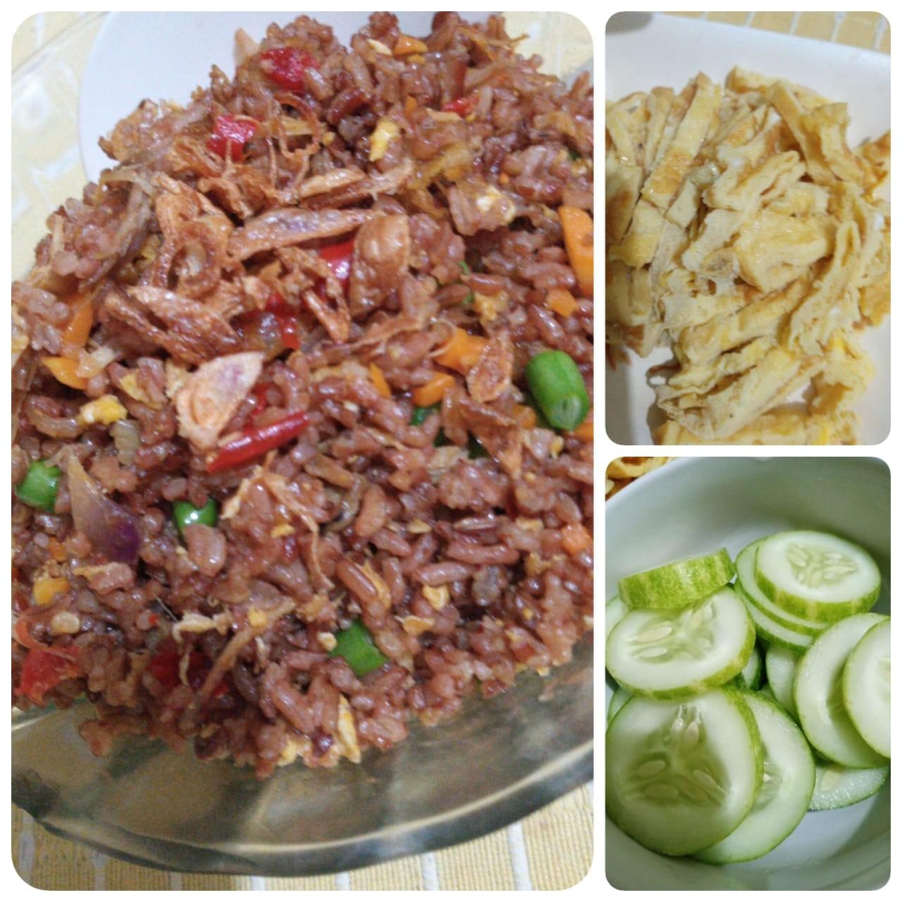 Nasi Merah Goreng,  Aroma Khas dan Sehat